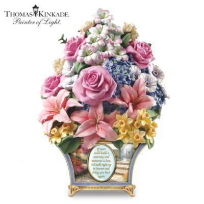 Thomas Kinkade Bouquet Of Memories Sculpture