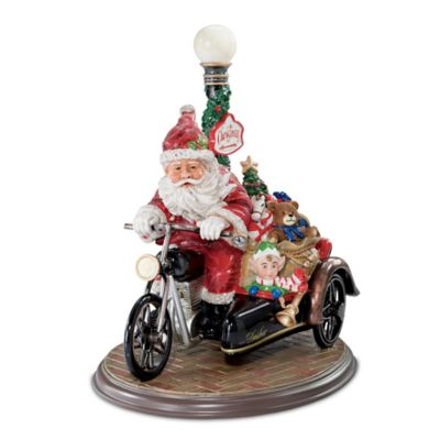 Santa Claus Is Coming To Town Figurine