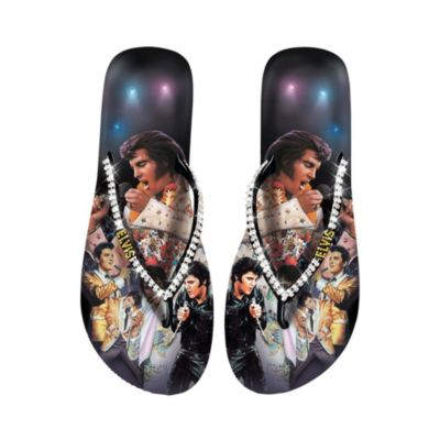 Elvis Showstopper Women's Flip Flops
