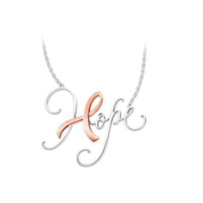 The Colour Of Hope Diamond Necklace