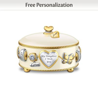 Daughter, I Wish You Personalized Music Box