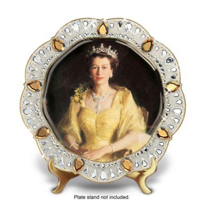 Queen Elizabeth II Diamond Jubilee Edition Collector Plate