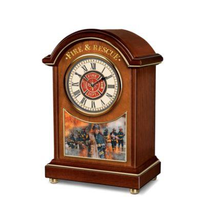 Everyday Heroes Tabletop Clock