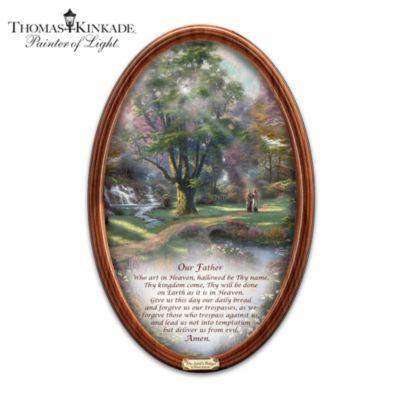 Thomas Kinkade Walk Of Faith Collector Plate