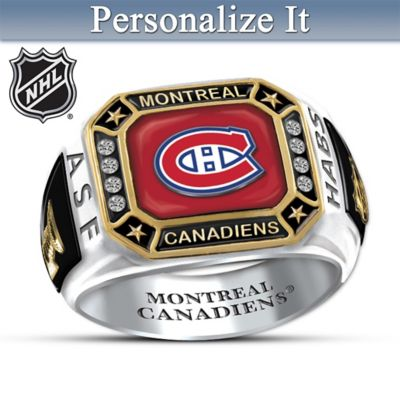 Montreal Canadiens® Personalized Men's Ring