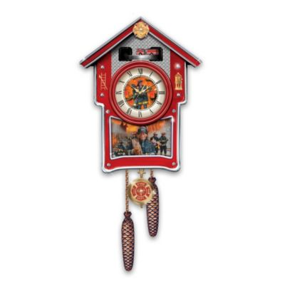 Around The Clock Heroes Cuckoo Clock