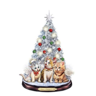 A Meow-y Christmas To All Tabletop Christmas Tree