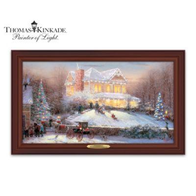 Thomas Kinkade Victorian Christmas II Wall Decor