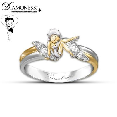 Betty Boop Embrace Ring
