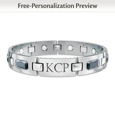 Optimum Personalized Men's Bracelet