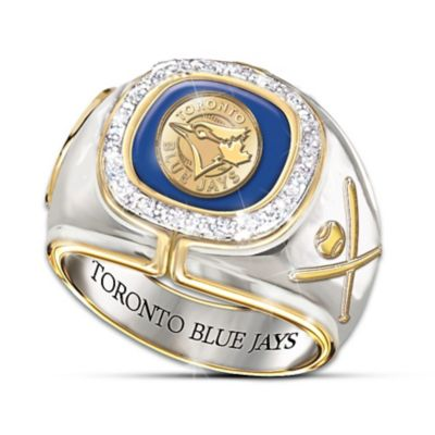 Toronto Blue Jays Diamond Ring