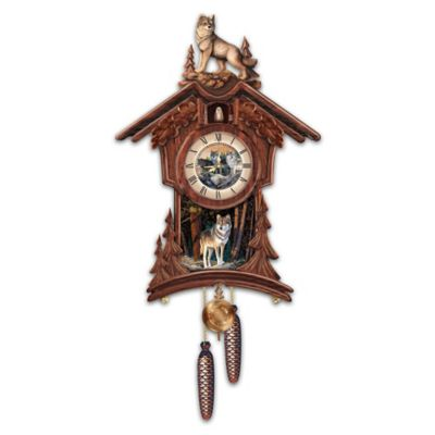 Sentinels Of The Forest Cuckoo Clock