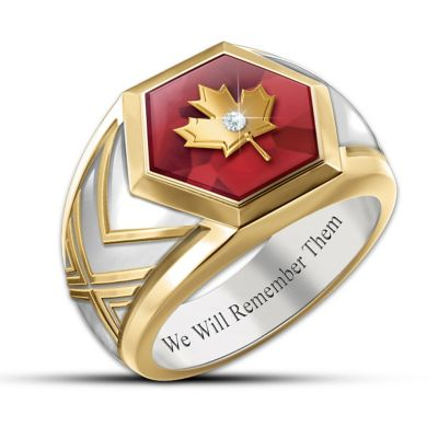 Lest We Forget Ring