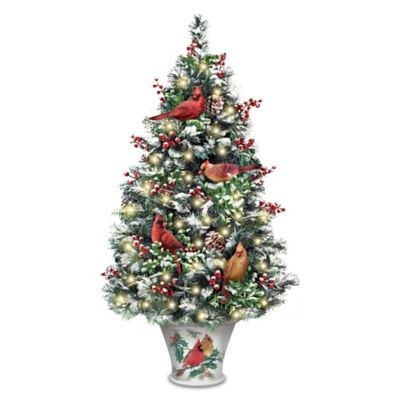 Winter's Beautiful Blessings Tabletop Tree