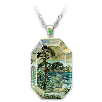 September Gale Pendant Necklace