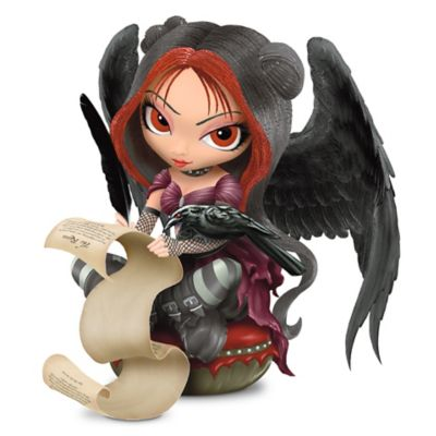 Once Upon A Midnight Dreary Figurine