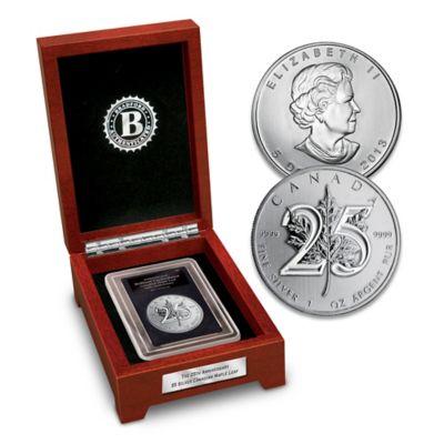 The 25th Anniversary Silver Maple Leaf Bullion Coin