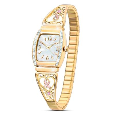Ribbons Of Hope Women's Watch