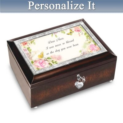 Niece, You're A Blessing Personalized Music Box