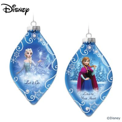 Disney FROZEN Ornaments: Set One