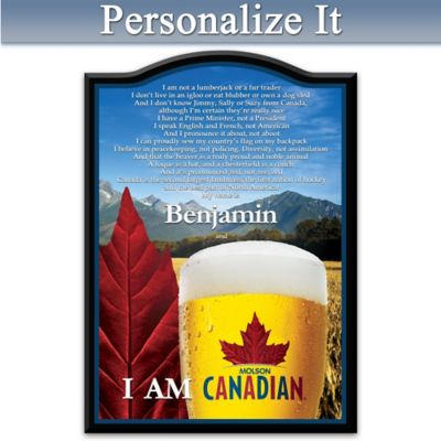 Molson Personalized Welcome Sign