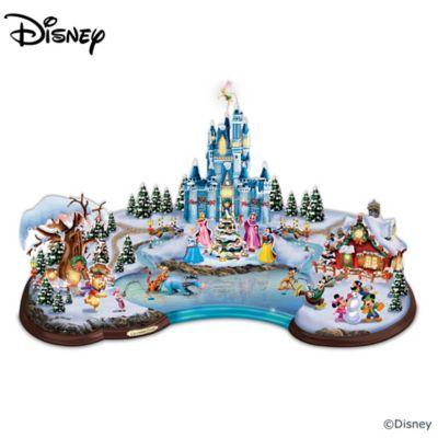 Disney Christmas Cove Sculpture