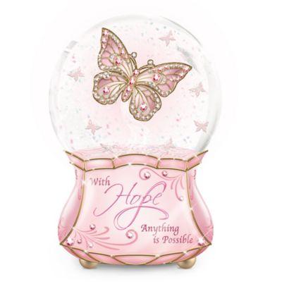 Hope Glitter Globe