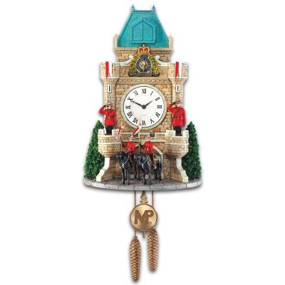 RCMP Cuckoo Clock