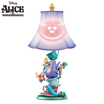 Disney Alice In Wonderland Mad Hatter's Tea Party Lamp