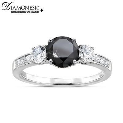 Black Brilliance Ring