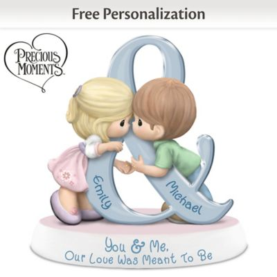 You & Me, Our Love Was Meant To Be Personalized Figurine