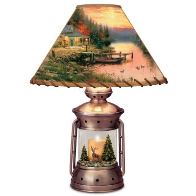 Thomas Kinkade Cottage Life Lamp