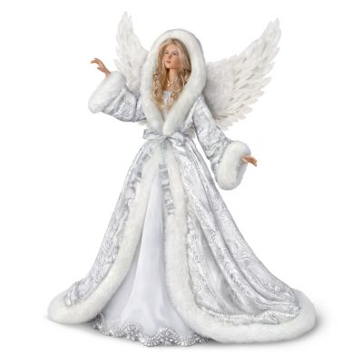 Silent Night Angel Portrait Doll