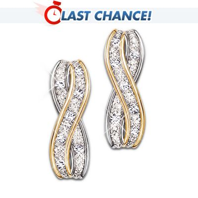 Infinite Love Diamond Earrings