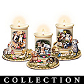 Live, Love, Purr Candleholder Collection