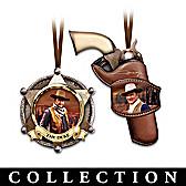 Legend Of John Wayne Ornament Collection