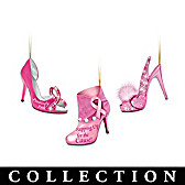 Walk For The Cause Ornament Collection
