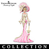 Thomas Kinkade Laced With Hope Figurine Collection