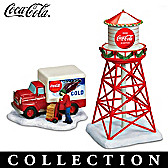COCA-COLA Railroad Train Accessory Collection