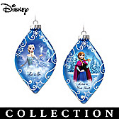 Disney FROZEN Ornament Collection