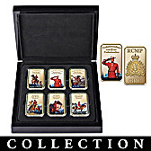 RCMP Gold-Plated Ingot Collection