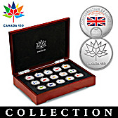 Confederation Of Canada Coin Collection