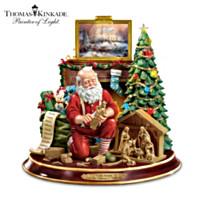"""Thomas Kinkade """"The True Meaning Of Christmas"""" Figurine"""