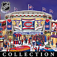 Montreal Canadiens® Christmas Village Collection