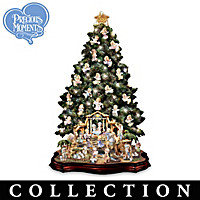 Precious Moments Nativity Christmas Tree Collection