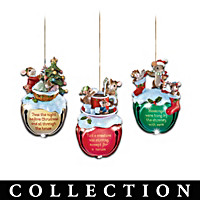 Charming Tails Ornament Collection