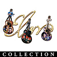 Elvis Presley's Signature Guitar Wall Decor Collection