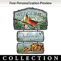 Songbirds Of The Season Wall Decor Collection
