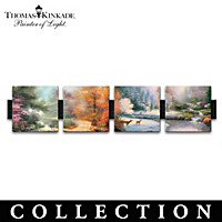Thomas Kinkade Seasons Of Radiance Wall Decor Collection
