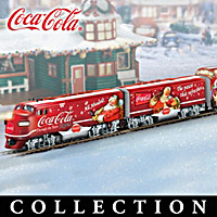 COCA-COLA Through The Years Express Train Collection